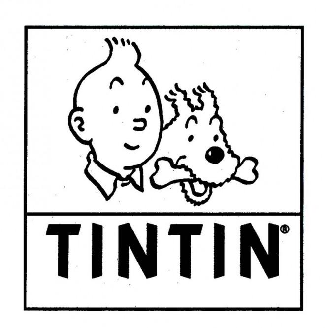 Coloriage et dessins gratuits Affiche de Tintin et Milou à imprimer