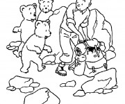 Coloriage Tintin 14