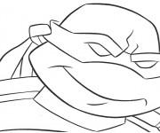 Coloriage dessin  Tortue Ninja 14