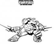 Coloriage dessin  Tortue Ninja 17