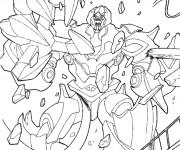 Coloriage Dessin de Film Transformers