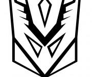 Coloriage Masque Transformers à découper