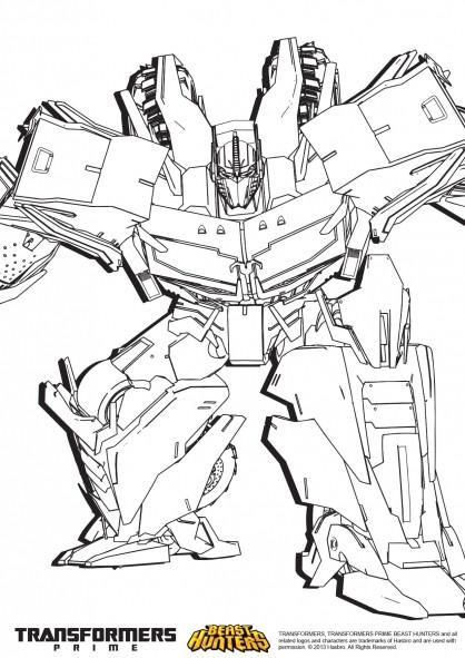 Coloriage et dessins gratuits Mégatron Transformers Film à imprimer