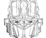 Coloriage et dessins gratuit Robot Transformers Bumblebee à imprimer