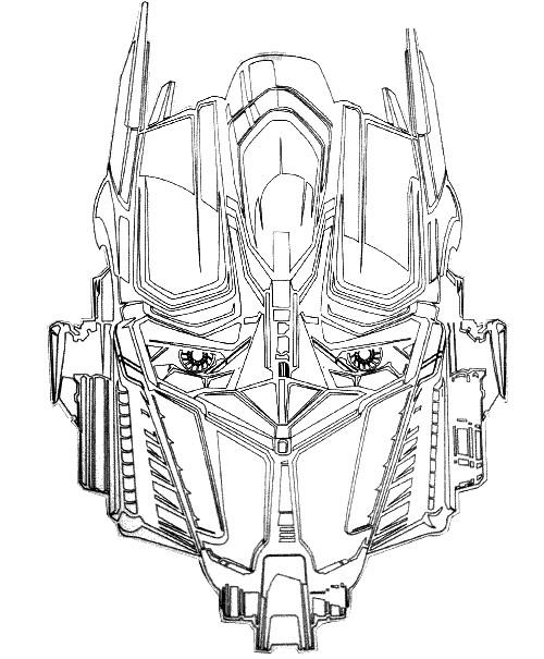 Coloriage Robot Transformers Bumblebee Dessin Gratuit à