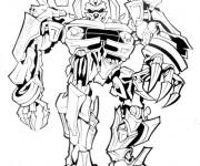 Coloriage Robot Transformers en ligne