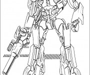 Coloriage Transformers 1