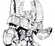 Coloriage Transformers 19