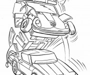 Coloriage Transformers 2