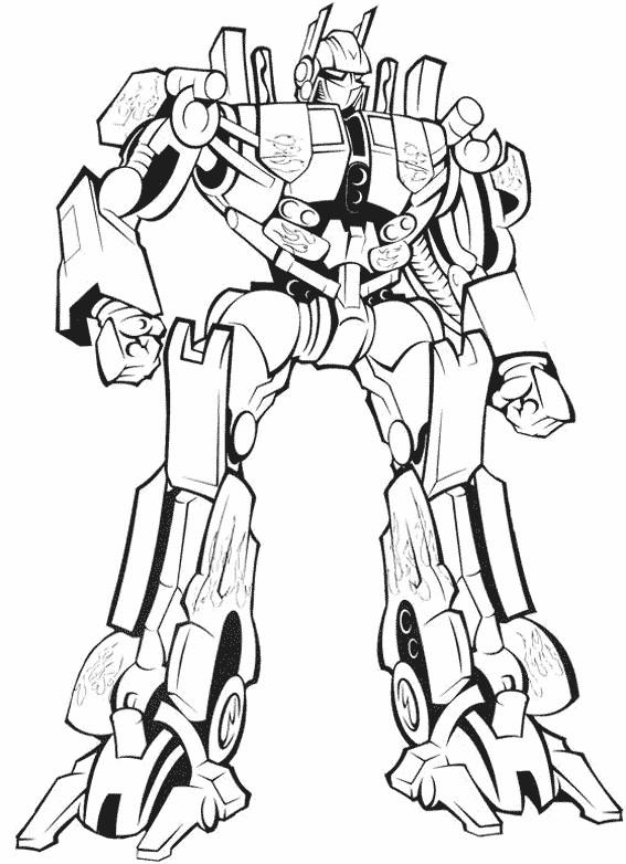 Coloriage et dessins gratuits Transformers à télécharger à imprimer