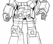 Coloriage et dessins gratuit Transformers Bumblebee à imprimer