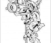 Coloriage Transformers Bumblebee Affiche
