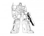 Coloriage Transformers Bumblebee sur Ordinateur