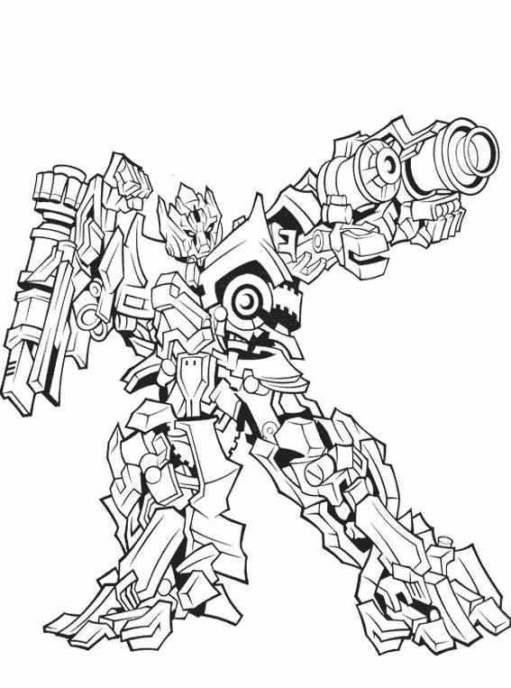 Coloriage et dessins gratuits Transformers Crosshairs à imprimer