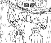 Coloriage et dessins gratuit Transformers en Ligne à imprimer