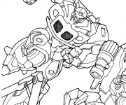 Coloriage Transformers Frenzy