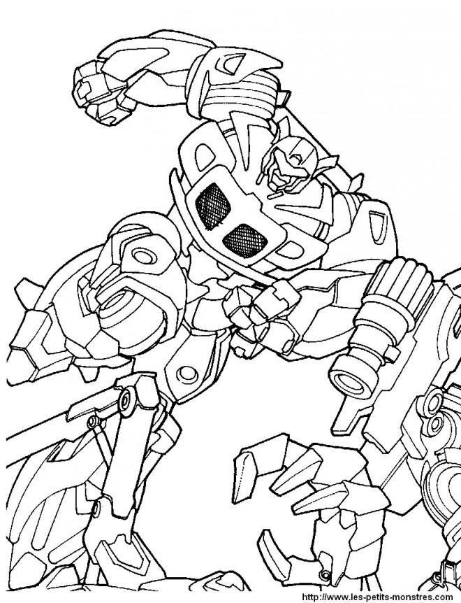 Coloriage et dessins gratuits Transformers Frenzy à imprimer
