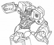 Coloriage Transformers Ironhide