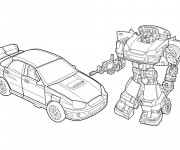 Coloriage Transformers Jouets