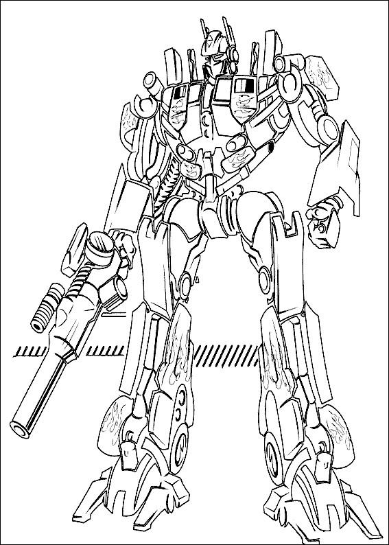 Coloriage En Ligne Transformers.Coloriage Transformers Megatron Dessin Gratuit A Imprimer