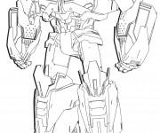 Coloriage Transformers Mégatron couleur
