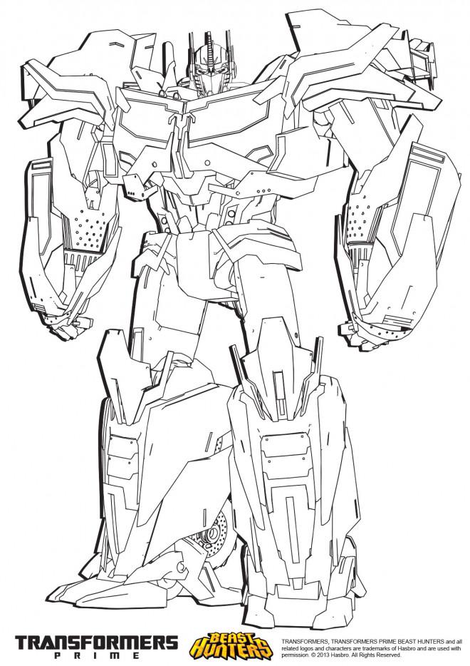 Coloriage En Ligne Transformers.Coloriage Transformers Megatron Couleur Dessin Gratuit A