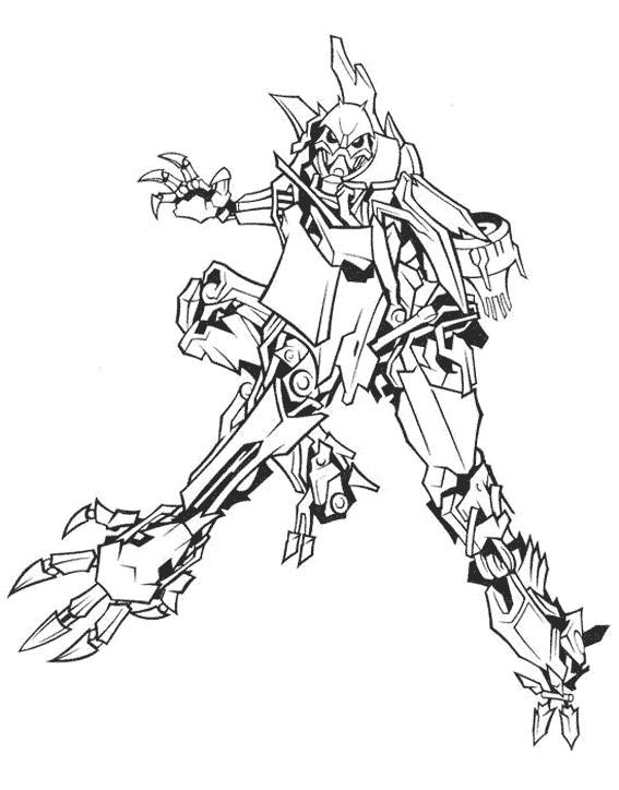 Coloriage et dessins gratuits Transformers pour adulte à imprimer