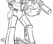 Coloriage et dessins gratuit Transformers protecteur de La Terre à imprimer