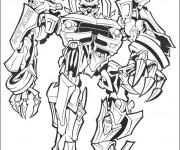 Coloriage Transformers Rampage