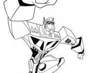 Coloriage Transformers Ratchet