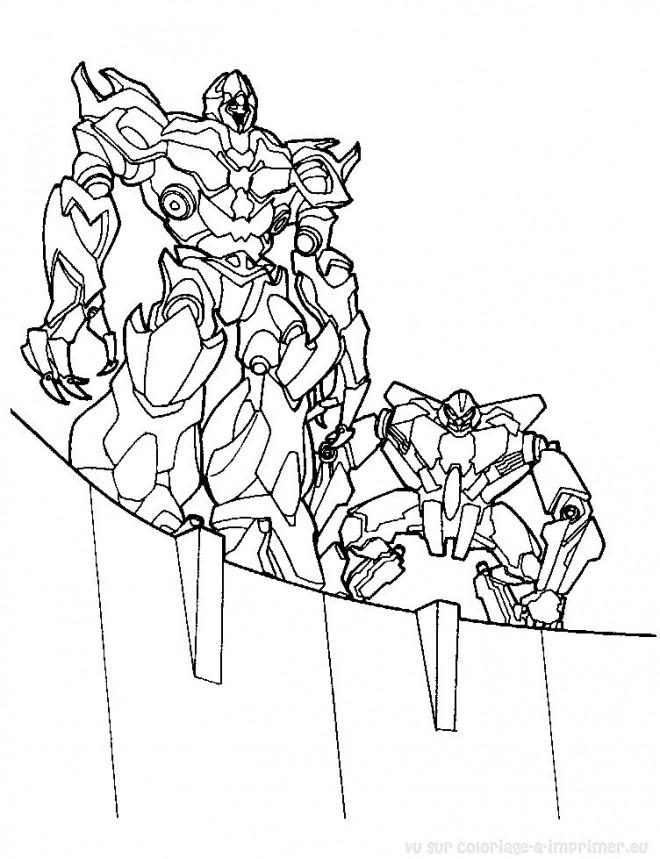 Coloriage et dessins gratuits Transformers rescue Bots à imprimer