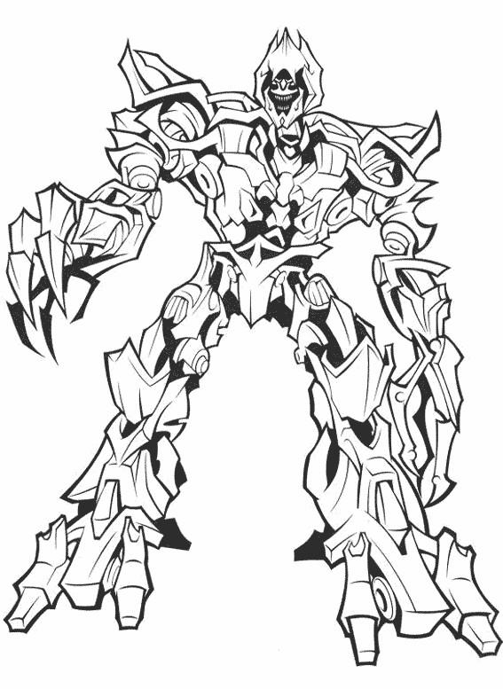 Coloriage et dessins gratuits Transformers Sentinel Prime à imprimer