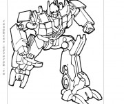 Coloriage Transformers Sidewipes