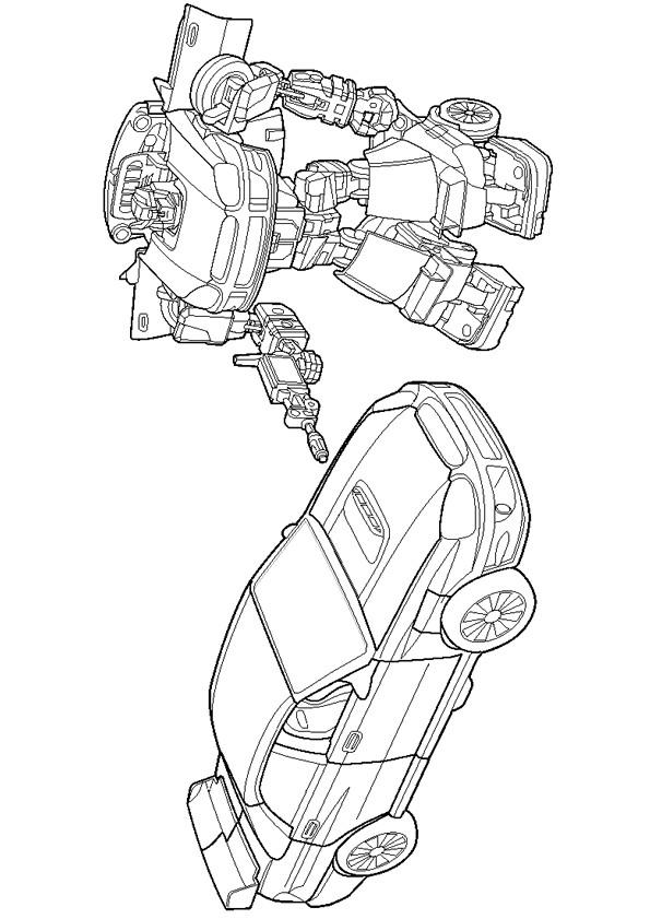 Coloriage et dessins gratuits Transformers Véhicules à imprimer