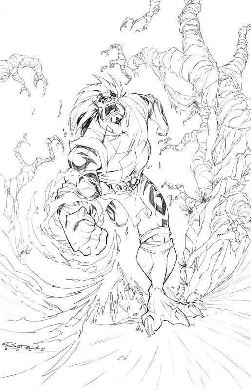 Coloriage et dessins gratuits Chaotic Ultraman à imprimer