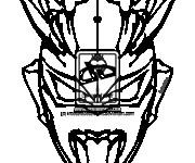 Coloriage Ultraman 14