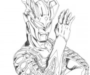 Coloriage Ultraman 8