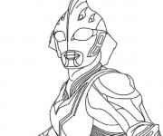 Coloriage Ultraman Alien
