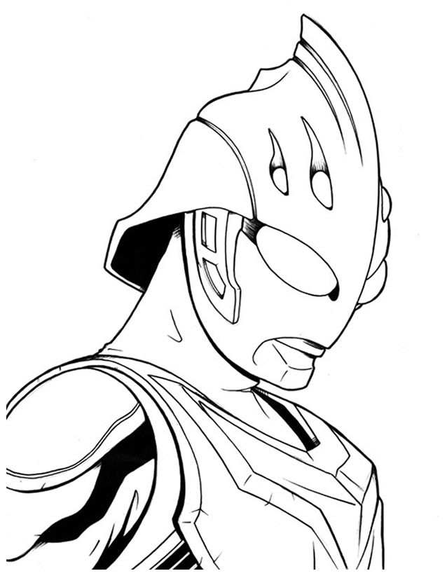 Coloriage et dessins gratuits Ultraman Héro à imprimer