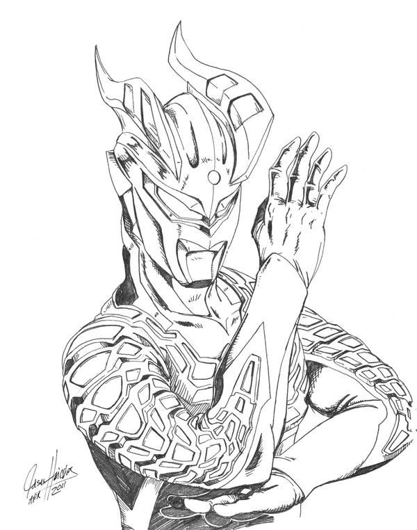 Coloriage et dessins gratuits Ultraman Monstre à imprimer