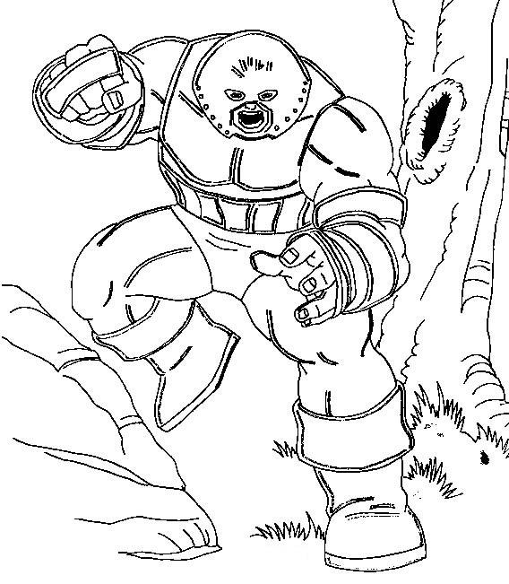 Coloriage et dessins gratuits Héro avec de nombreux pouvoirs à imprimer