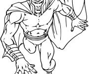 Coloriage et dessins gratuit X-Men magique à imprimer