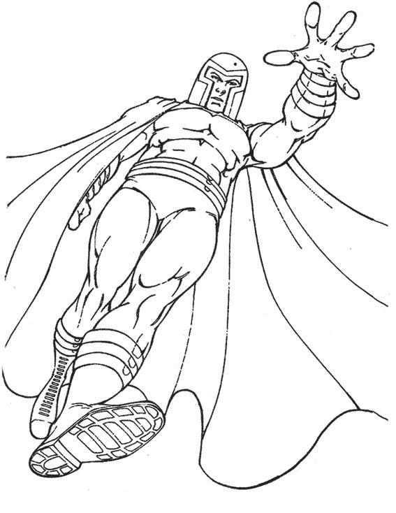 Coloriage et dessins gratuits X-Men Magnéto à imprimer