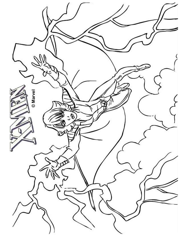 Coloriage et dessins gratuits X-Men Marvel à imprimer