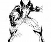 Coloriage X-Men Mystique