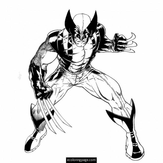 Coloriage et dessins gratuits X-Men Mystique à imprimer