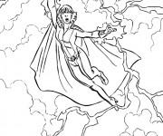 Coloriage et dessins gratuit X-Men Personnage à imprimer