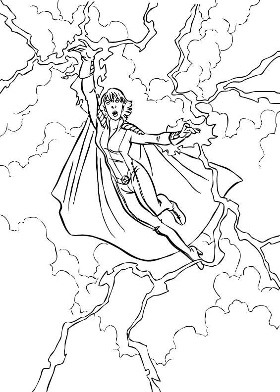 Coloriage et dessins gratuits X-Men Personnage à imprimer