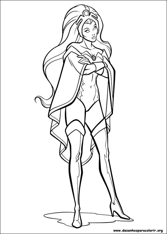 Coloriage et dessins gratuits X-Men Super Héro en Vecteur à imprimer