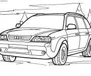 Coloriage et dessins gratuit 4 X 4 Audi à imprimer